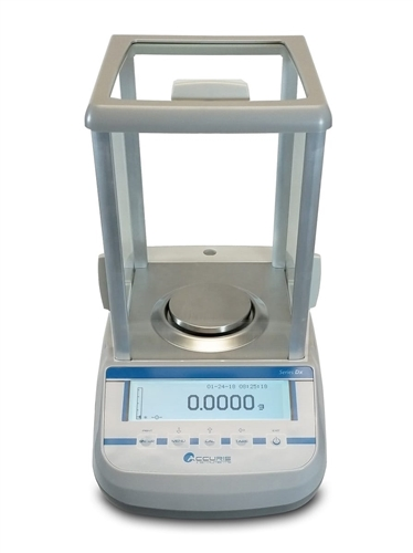 Accuris Analytical Balance, series Dx, Internal Calibration w/ Graphical Display, 120g