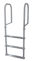 Three Step Stainless Steel Dock Ladder