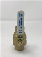 "1 1/4"" Full Port Sweat Ball Valve, Lead Free"
