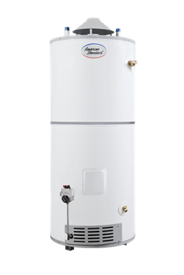 PLC-75-76-AS American Standard 75 Gallon Ultra Low NOx Light Duty Storage Commercial Gas Water Heater