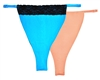 Cleava - LIMITED EDITION Combo Set -- Black Lace Edge - Aqua Blue & Original Classic - Peach Combo Set