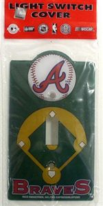 Atlanta Braves Light Switch Cover