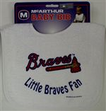 Atlanta Braves Baby Bib