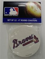 Atlanta Braves Coasters