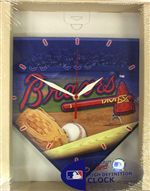 Atlanta Braves Clock