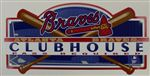 Atlanta Braves Clubhouse Sign