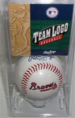 Atlanta Braves Logo Baseball