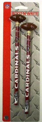 Arizona Cardinals Pencil And Eraser