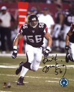 Atlanta Falcons Keith Brooking Autograph 8x10