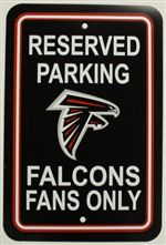 Atlanta Falcons Sign - Parking