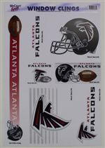 Atlanta Falcons Window Cling Sheet