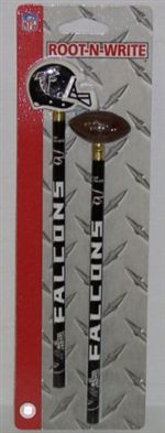 Atlanta Falcons Pencil And Eraser Set