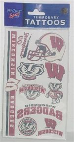 Wisconsin Badgers Tattoos