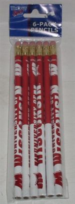 Wisconsin Badgers Pencils
