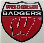 Wisconsin Badgers Sign - Interstate