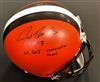 Joe Thomas Autograph Full Size Cleveland Browns Replica Helmet