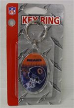 Chicago Bears Key Ring - Acrylic