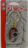 Chicago Bears Key Ring - Brass