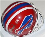 Buffalo Bills Andre Reed Autograph Mini Helmet