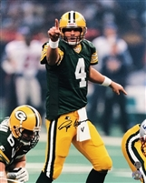 Brett Favre Autograph 16x20 Photo