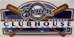 Milwaukee Brewers Clubhouse Sign