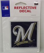 Milwaukee Brewers Reflective Decal