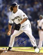 Milwaukee Brewers Derrick Turnbow Autograph 8x10 Photo