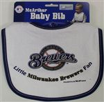 Milwaukee Brewers Baby Bib