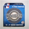 Milwaukee Brewers Round Coasters