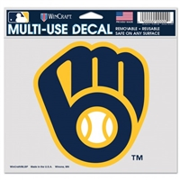 Milwaukee Brewers Wood Sign