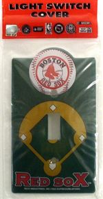 Boston Red Sox Light Switch Cover