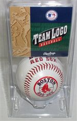 Boston Red Sox Logo Baseball