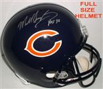 Chicago Bears Mike Singletary Autograph Full Size Replica Helmet