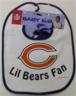Chicago Bears Baby Bib
