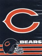 Chicago Bears Verticale Flag