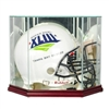Full Size Helmet Glass Display Case