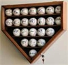 23 Baseball Display Case Cabinet Holder