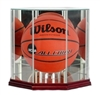 Basketball Octagon Glass Display Case