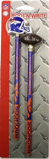 Denver Broncos Pencils And Eraser