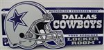 Dallas Cowboys Locker Room Sign