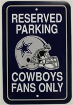 Dallas Cowboys Sign - Parking