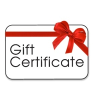 Jeff's Sports Inc. Gift Certificate