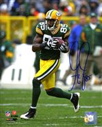 Greg Jennings Autograph 8x10 Photo