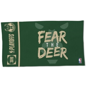 Milwaukee Bucks Official Playoff Locker Room Towel