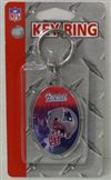 New England Patriots Key Ring - Acrylic