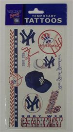 New York Yankees Tattoos