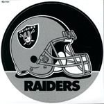 Oakland Raiders Sticker