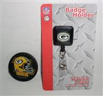 Green Bay Packers Retractable Badge Holder