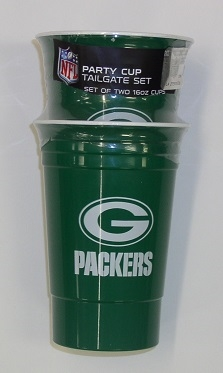 Green Bay Packers Party Cup Tailgate Set