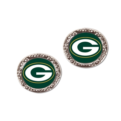 Green Bay Packers Earrings